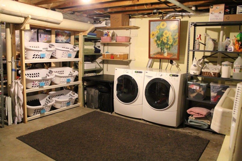 Basement Laundry Room renovations