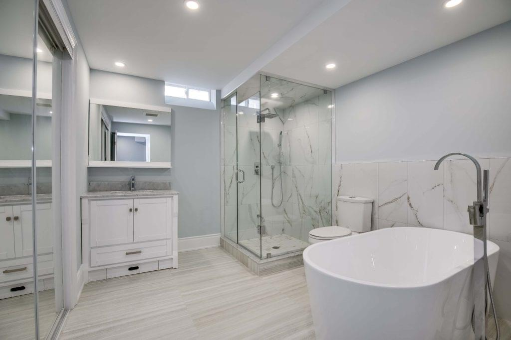Basement Bathroom renovations