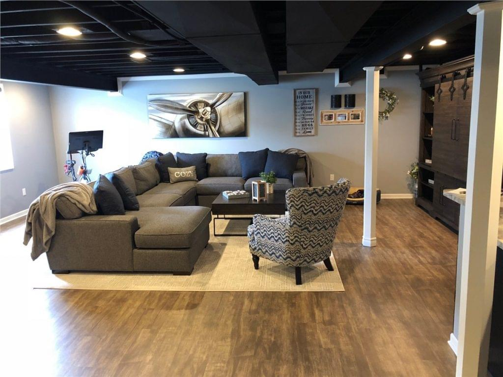 Basement Family Room renovations