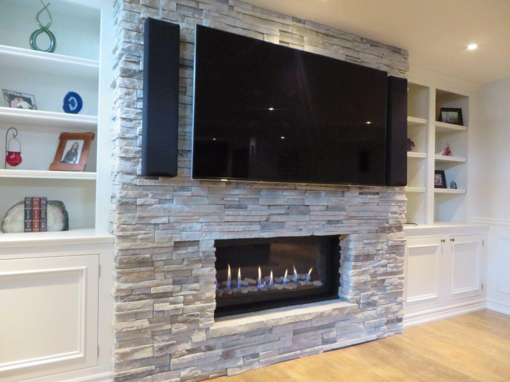 Basement Fireplace renovations
