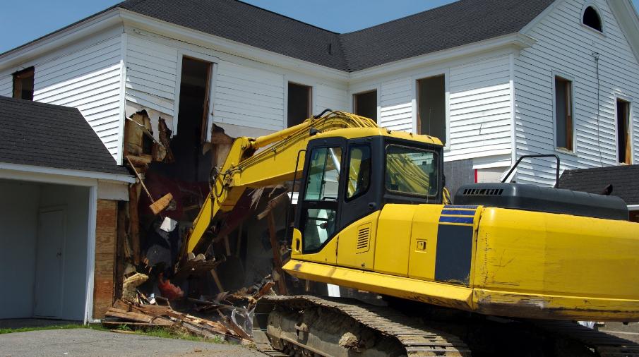 Mechanized Demolition in Toronto